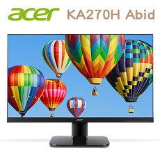 Acer宏碁 KA270H A 27型螢幕