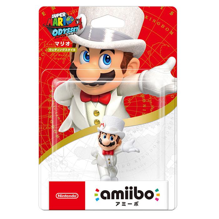 (預購)【任天堂 Nintendo】 amiibo公仔 瑪利歐 (超級瑪利歐奧德賽系列)