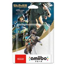 (預購)【任天堂 Nintendo】 amiibo公仔 林克-騎馬 (薩爾達傳說:荒野之息系列)