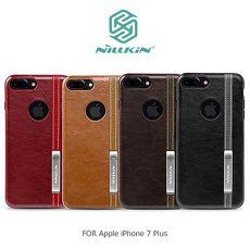 NILLKIN Apple iPhone 7 Plus 5.5吋 尊銘商務保護殼淺棕