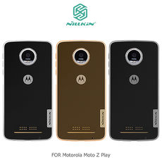 NILLKIN Motorola Moto Z Play 本色TPU軟套透白