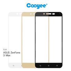 Cooyee ASUS ZenFone 3 Max ZC553KL 滿版玻璃貼(全膠)金色