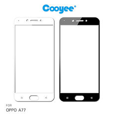 Cooyee OPPO A77 滿版玻璃貼(亮面)(全膠)