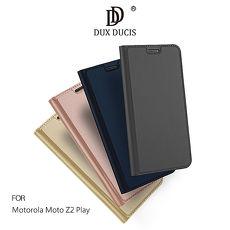 DUX DUCIS Motorola Moto Z2 Play SKIN Pro 皮套灰色
