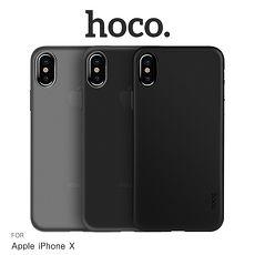 hoco Apple iPhone X 薄系列 PP 殼實黑