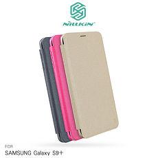 NILLKIN SAMSUNG Galaxy S9+ 星音勻皮套香檳金