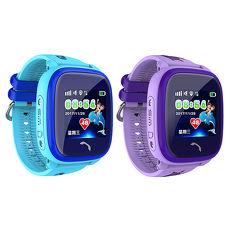 台灣IS愛思獨家首發 GW-06兒童游泳防水定位手錶 精準定位 IP67防水紫