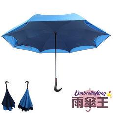 【雨伞王-终身免费维修】BIGRED 一秒收反向手开长直伞 (2色可选)