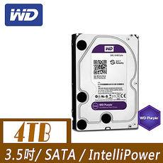 WD 威騰 PURX 4TB 3.5吋SATAIII 硬碟(WD40PURZ)