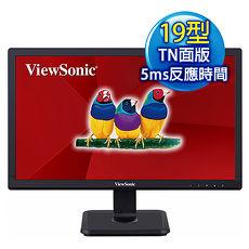 ViewSonic VA1901-a 19型 護眼寬螢幕(1366x768/D-Sub)