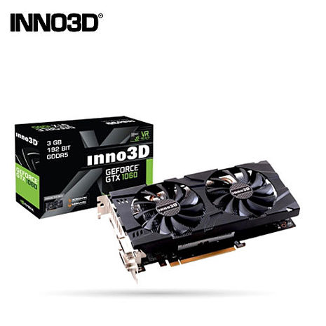 INNO3D 映眾 GTX 1060 3GB GDDR5 Twin X2 顯示卡