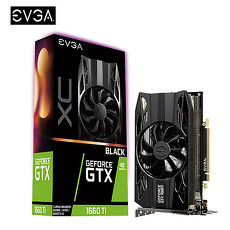 EVGA 艾維克 GTX 1660 Ti XC BLACK 顯示卡(06G-P4-1261-KR)