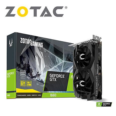 ZOTAC索泰 GAMING GeForce GTX 1660 AMP Edition 顯示卡