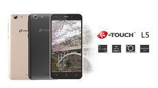 K-Touch L5 5吋4G全頻入門智慧手機黑