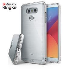 【Rearth Ringke】LG G6 [Fusion] 透明背蓋防撞手機保護殼透黑