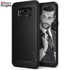 【Rearth Ringke】三星 Galaxy S8 [Onyx] 防撞緩衝手機保護殼 (黑)