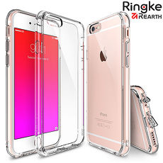 【Rearth Ringke】iPhone 6s/6s Plus [Fusion] 透明背蓋防撞手機保護殼