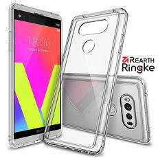 【Rearth Ringke】LG V20 [Fusion] 透明背蓋防撞手機殼透黑