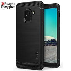 【Rearth Ringke】三星 Galaxy A8 / A8 Plus 2018 [Onyx] 防撞緩衝手機殼 (黑)