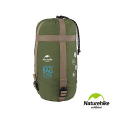 Naturehike 四季通用輕巧迷你型睡袋 軍綠