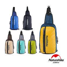 Naturehike 8L戶外輕量單肩斜背包 風行包 六色 NH灰藍