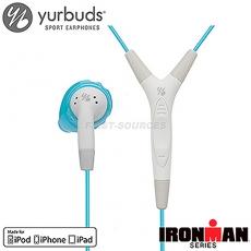 《Yurbuds》 Inspire Pro 運動型入耳式線控麥克風耳藍色(AYUR-019)