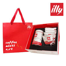 【illy】意利典藏咖啡禮盒(中焙咖啡粉+中焙掛耳五包)