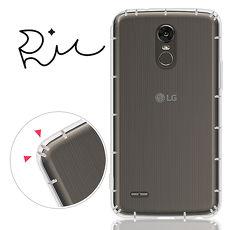 RedMoon LG Stylus 3  5.7吋 防摔氣墊透明TPU手機軟