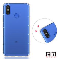 RedMoon Xiaomi 小米 Max 3 防摔透明TPU手機軟殼