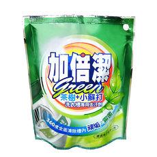 加倍潔 茶樹+小蘇打洗衣槽去污劑 300gx12包