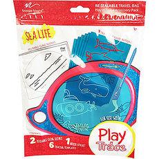 美國Boogie Board Play n Trace兒童繪畫板電子透明描寫板 / 塗鴉卡