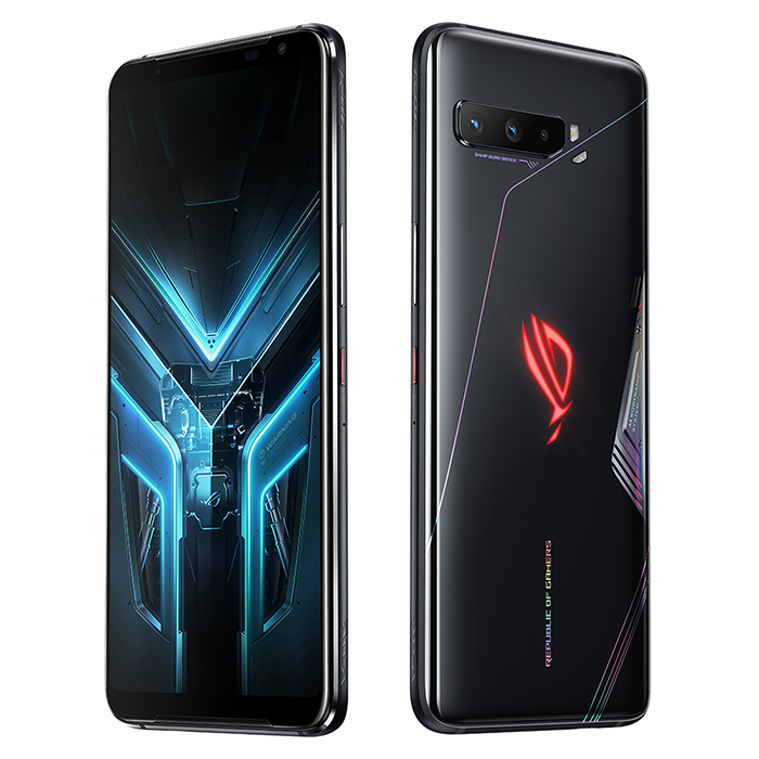 【限量原廠三好禮】ASUS ROG Phone 3 ZS661KS (16G/512G) 6.59吋 5G 電競手機 - 幻影黑