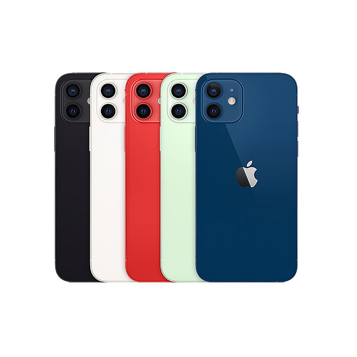 Apple iPhone 12 64G 6.1吋 智慧型手機【贈殼+保貼】藍色