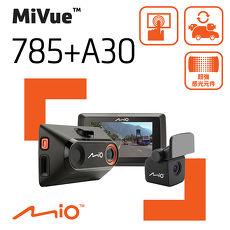 Mio MiVue 785+A30 (785D) 前後雙鏡 SONY 感光元件觸控 GPS+測速 行車記錄器