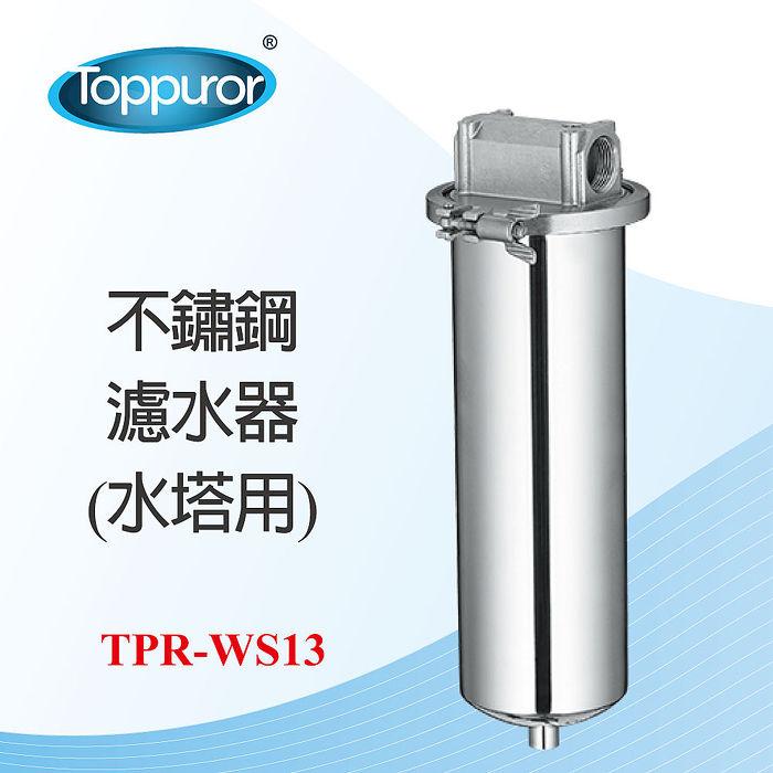 【Toppuror 泰浦樂】不鏽鋼濾水器 水塔用TPR-WS13