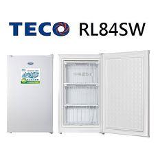 【TECO東元】84公升單門直立式冷凍櫃 RL84SW
