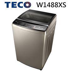 【福利品 TECO 東元】14kg DD變頻直驅洗衣機-W1488XS 晶鑽銀(含基本安裝)