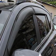 LUXGEN 汽車晴雨窗(後座一組/左右各一)-專車專用