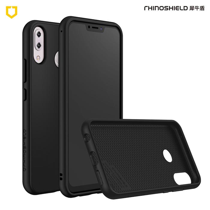 犀牛盾 華碩 ASUS Zenfone 5/5Z SolidSuit 防摔背蓋手機殼 - 經典黑