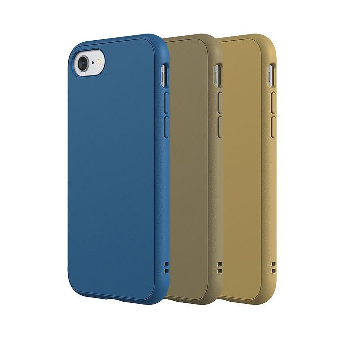 犀牛盾 iPhone 6 / 6s / 6 Plus/ 6s Plus Solidsuit 防摔背蓋手機殼-經典款(2020新三色)雀藍/可可棕/卡其6Plus/6s Plus-可可棕