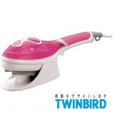 日本TWINBIRD-手持式蒸氣熨斗(粉)SA-4084P