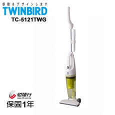 日本TWINBIRD-手持直立兩用吸塵器(綠)TC-5121TWG
