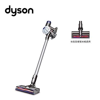【Dyson】V6 HEPA SV07無線手持吸塵器(亮白款)-限量福利品加贈床墊吸頭(dyson特賣)