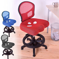 【凱堡】背座可調多段成長椅 三孔挺脊護腰成長椅 學習椅 兒童椅【A27129】