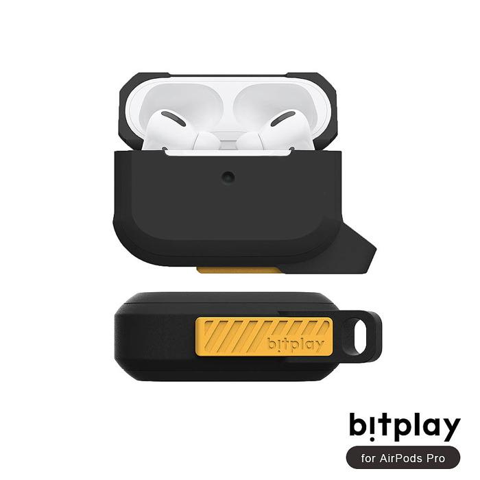 bitplay AirPods Pro 矽膠抗震機能撞色全方位保護套(附可拆掛鉤)