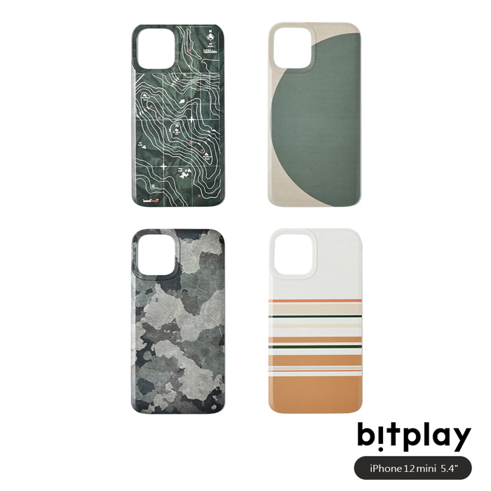 bitplay Wander Case iPhone 12 mini (5.4吋)專用 立扣殼背蓋▲四款可選幾何