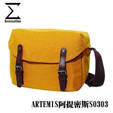 SUMMATION ARTEMIS阿提密斯S0303攝影側背包 相機背包 (黃) 防潑水 台灣代理商公司貨