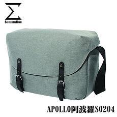 SUMMATION APOLLO阿波羅S0204攝影側背包 相機背包 (淺灰) 防潑水 台灣代理商公司貨