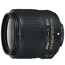 NIKON 尼康 AF-S NIKKOR 35mm F1.8G ED 鏡頭 無DX 全幅機適用 國祥公司貨