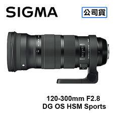 SIGMA 120-300mm F2.8 DG OS HSM Sports 防手震鏡頭 三年保固 恆伸公司貨FOR CANON